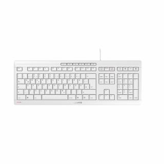 Cherry Stream JK-8500 Tastatur  USB QWERTZ/DE Kabel White