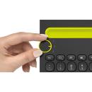Logitech K480 Bluetooth Multi-Device Tastatur QWERTZ